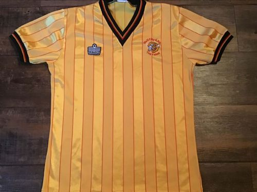 1984 1986 Hull City Football Shirt Medium